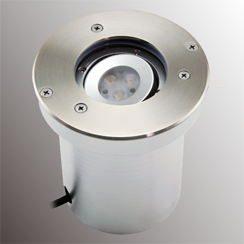 IP67 LED Inground Light Beam Tilted