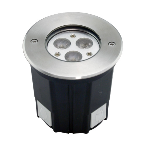 Recessed Round 3X3W LED Ingroud Light